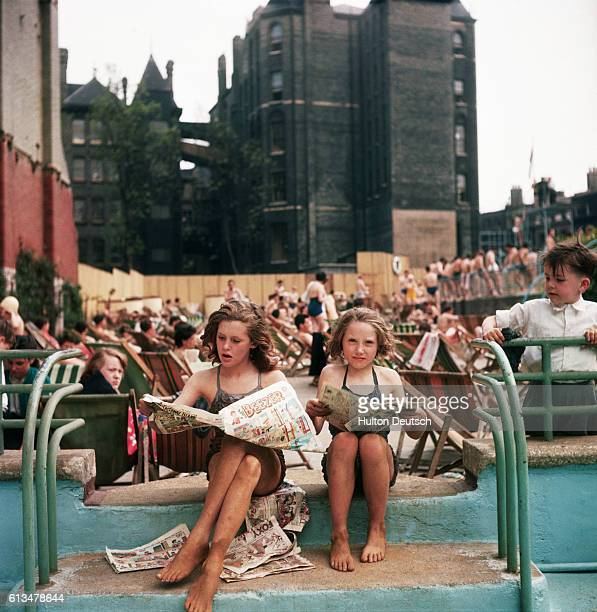 'The Oasis' Open Air Swimming Pool In The Heart Of London