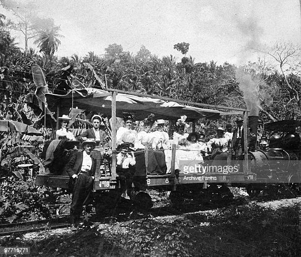 The observation car Golden Grove RR Jamaica