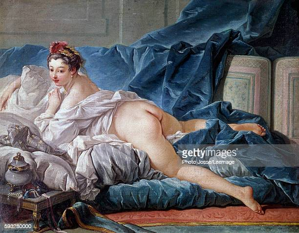 That Boucher nude on sofa nice