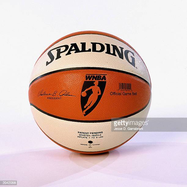 The offical WNBA Infusion Ball by Spalding was announced for the upcoming 2003 WNBA season on May 1 2003 in Secaucus New Jersey NOTE TO USER User...