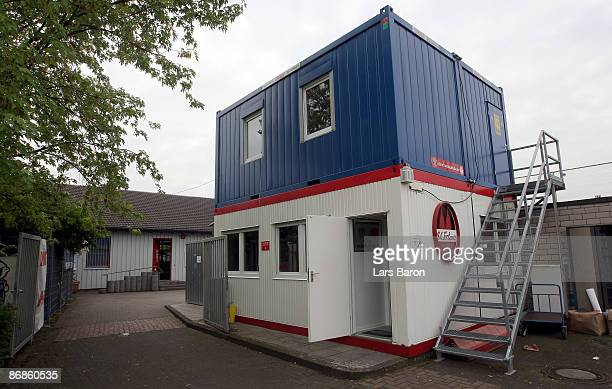 The office of the online community 'deinfussballclubde' is seen on April 30 2009 in Cologne Germany 'deinfussballclubde' is the biggest investor of...