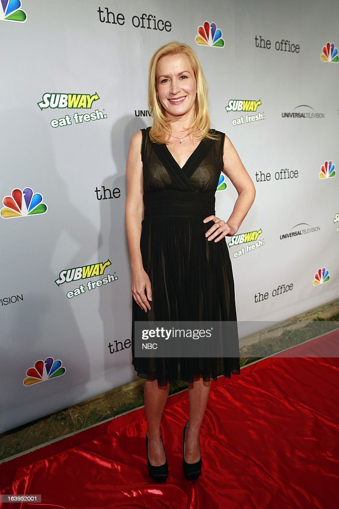 EVENTS -- The Office Wrap Party -- Pictured: <a gi-track='captionPersonalityLinkClicked' href=/galleries/search?phrase=Angela+Kinsey&family=editorial&specificpeople=743914 ng-click='$event.stopPropagation()'>Angela Kinsey</a>?at 'The Office' wrap party at Unici Casa in Los Angeles, CA on Saturday, March 16. --