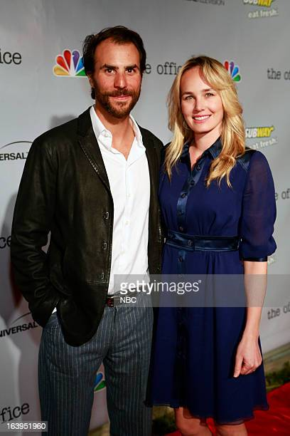 EVENTS The Office Wrap Party Pictured Ben Silverman and Jennifer Cuocoat 'The Office' wrap party at Unici Casa in Los Angeles CA on Saturday March 16
