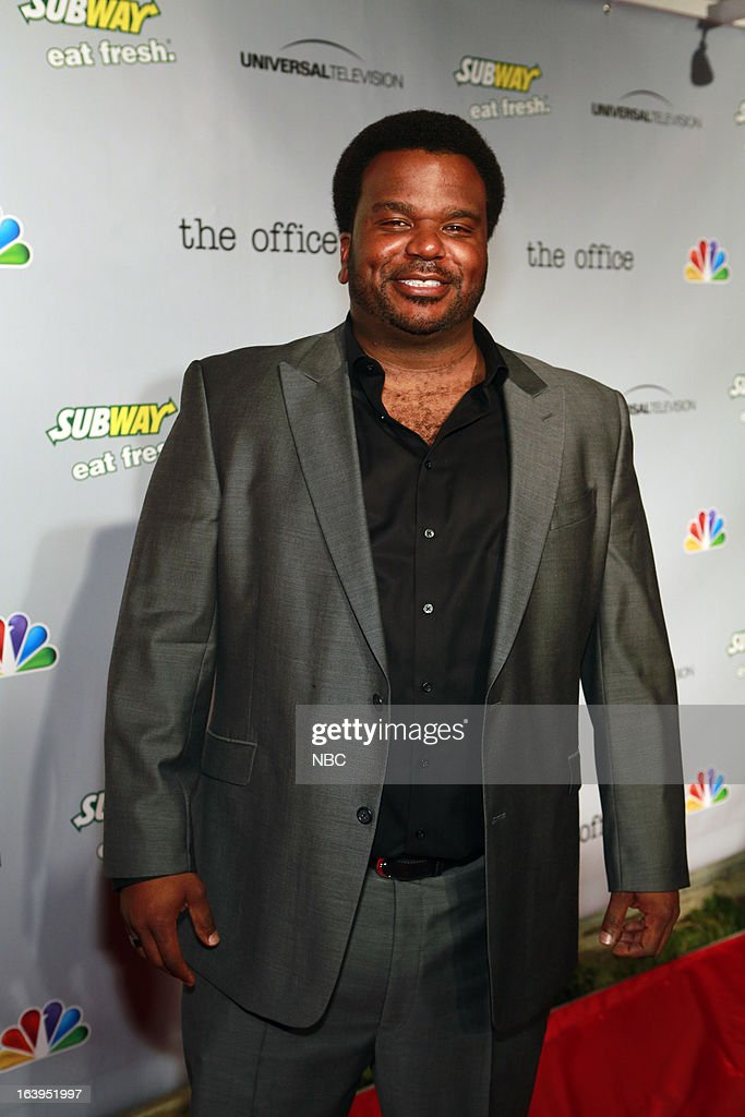 EVENTS -- The Office Wrap Party -- Pictured: Craig Robinson?at 'The Office' wrap party at Unici Casa in Los Angeles, CA on Saturday, March 16. --