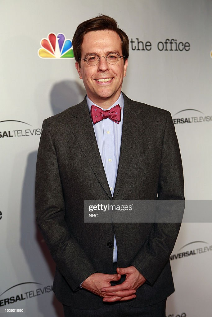 EVENTS -- The Office Wrap Party -- Pictured: <a gi-track='captionPersonalityLinkClicked' href=/galleries/search?phrase=Ed+Helms&family=editorial&specificpeople=662337 ng-click='$event.stopPropagation()'>Ed Helms</a>?at 'The Office' wrap party at Unici Casa in Los Angeles, CA on Saturday, March 16. --