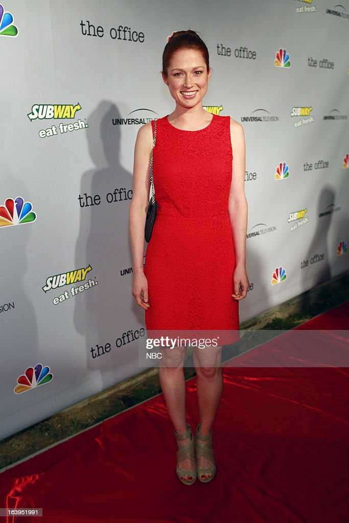 EVENTS -- The Office Wrap Party -- Pictured: <a gi-track='captionPersonalityLinkClicked' href=/galleries/search?phrase=Ellie+Kemper&family=editorial&specificpeople=6123842 ng-click='$event.stopPropagation()'>Ellie Kemper</a>?at 'The Office' wrap party at Unici Casa in Los Angeles, CA on Saturday, March 16. --