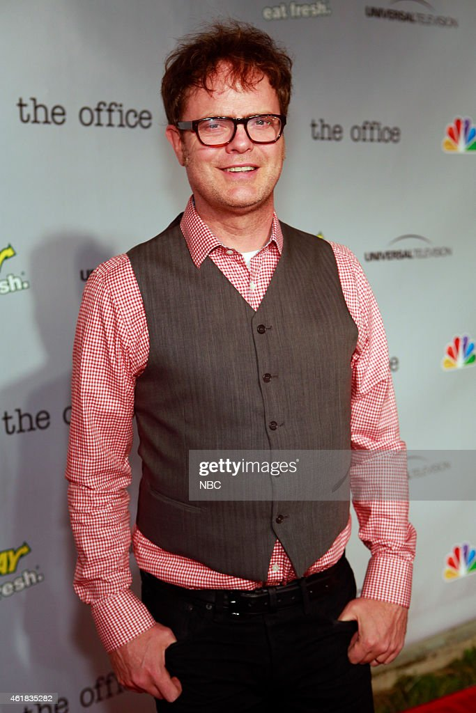 EVENTS -- The Office Wrap Party -- Pictured: <a gi-track='captionPersonalityLinkClicked' href=/galleries/search?phrase=Rainn+Wilson&family=editorial&specificpeople=534993 ng-click='$event.stopPropagation()'>Rainn Wilson</a>?at 'The Office' wrap party at Unici Casa in Los Angeles, CA on Saturday, March 16. --