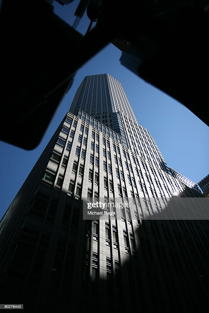 The offices of global investment bank securities trading and brokerage firm Bear Stearns Co on Madison Ave is seen on March 17 2008 in New York City...