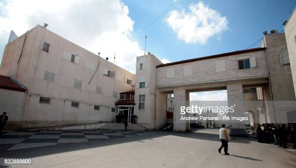 The offices of Mahmoud Abbas President of the Palestinian National Authority in Ramallah