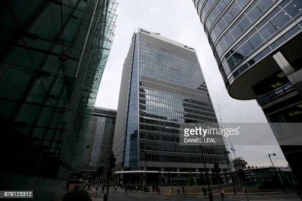 The offices of the European Medicines Agency are pictured after the visit of Spanish Health Secretary Dolors Montserrat in Canary Wharf east London...