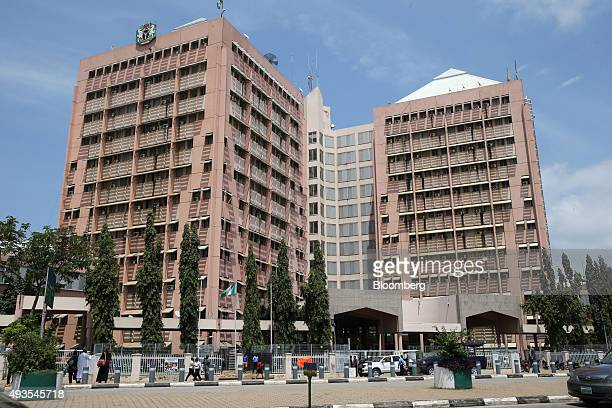 The offices of the Federal Secretariat stand in Abuja Nigeria on Tuesday Oct 20 2015 Nigeria plans to create a $25 billion fund with public and...
