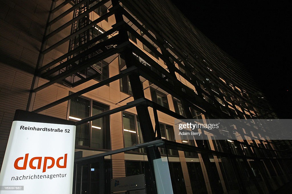 The offices of the German news agency dapd stand on March 4, 2013 in Berlin, Germany. The country's second-largest news agency, dapd, was forced to declare insolvency for the second time in five months on March 1.