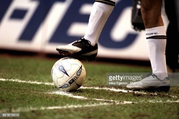 The official AXA FA Cup matchball