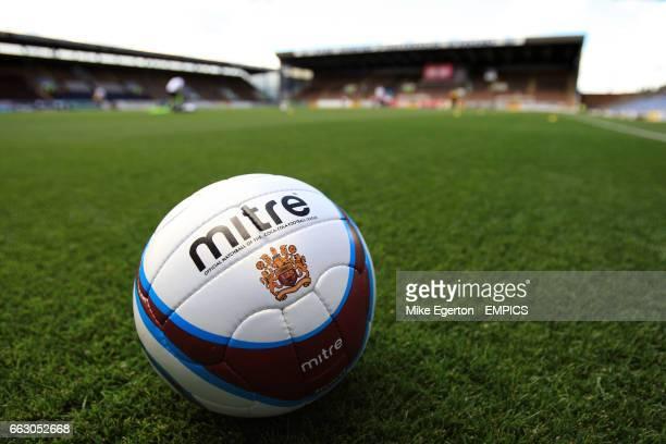 The official Burnley matchball