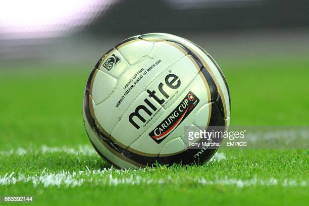 The official Carling Cup matchball