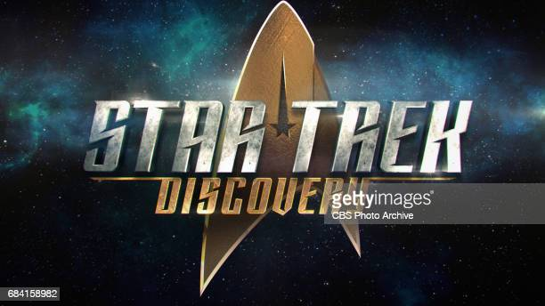 The official logo of STAR TREK USS DISCOVERY premiering on CBS All Access and CBS Television Network
