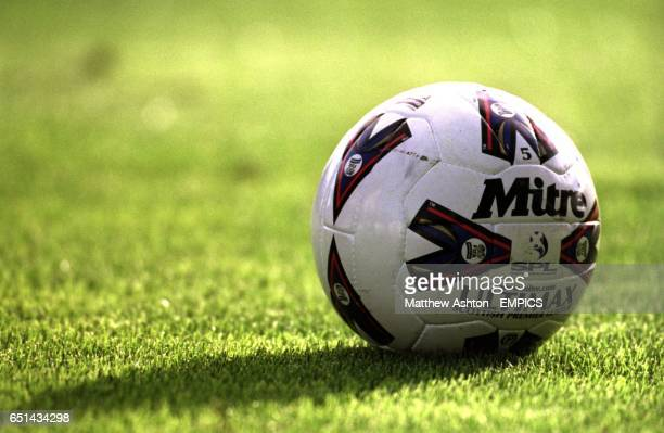 The official matchball of the Bank of Scotland Premier League