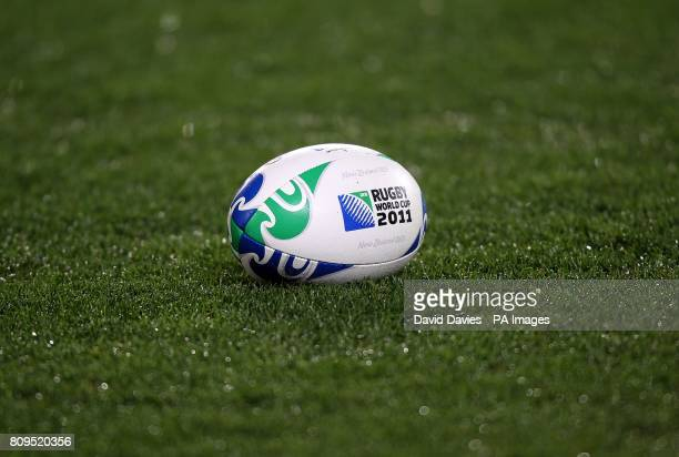 The official matchball of the Rugby World Cup 2011