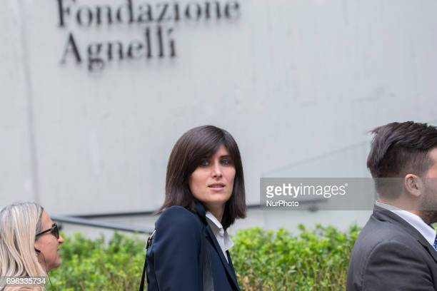 The official opening of the Fondazione Giovanni Agnelli In the picture Mayor of Turin Chiara Appendino
