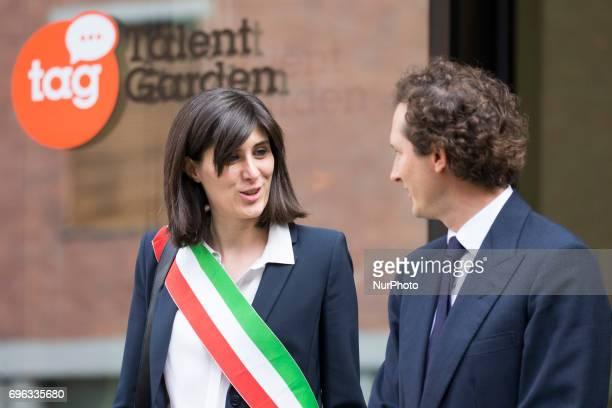 The official opening of the Fondazione Giovanni Agnelli In the picture Chiara Appendino