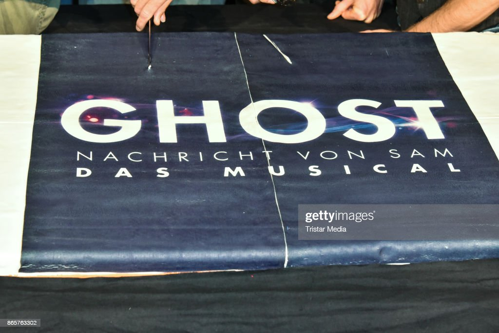 Rehearsal Of Ghost - The Musical In Berlin