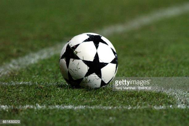 The official UEFA Champions League matchball