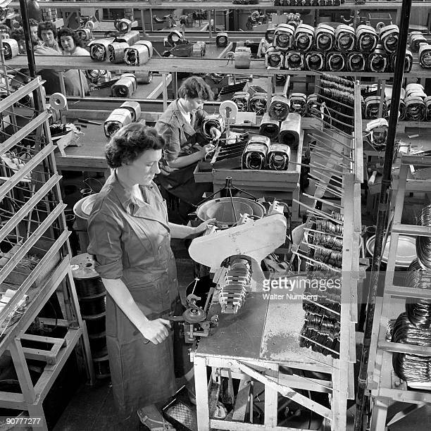 The Ohio based company Hoover set up a plant to manufacture vacuum cleaners in the depressed area of Glasgow Cambuslang during the 1950s Photograph...