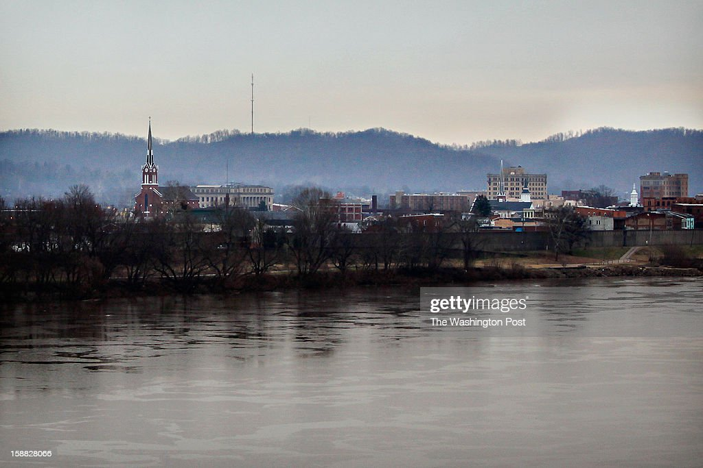 The Ohio River flows quietly by Portsmouth, Ohio on Thursday, December 20, 2012. The city has suffered the effects of widespread prescription drug abuse, but now has many drug recovery programs trying to counteract the addictions.