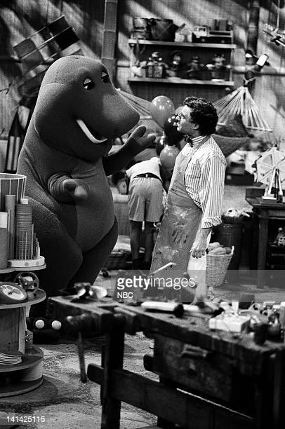 AIR 'The Ol' Ball and Chain' Episode 20 Air Date Pictured Barney Unknown Photo by NBCU Photo Bank