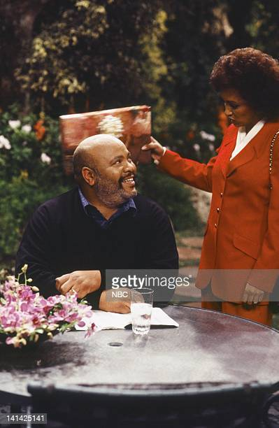 AIR THE 'The Ol' Ball and Chain' Episode 20 Pictured James Avery as Philip Banks Daphne Reid as Vivian Banks Photo by Chris Haston/NBCU Photo Bank