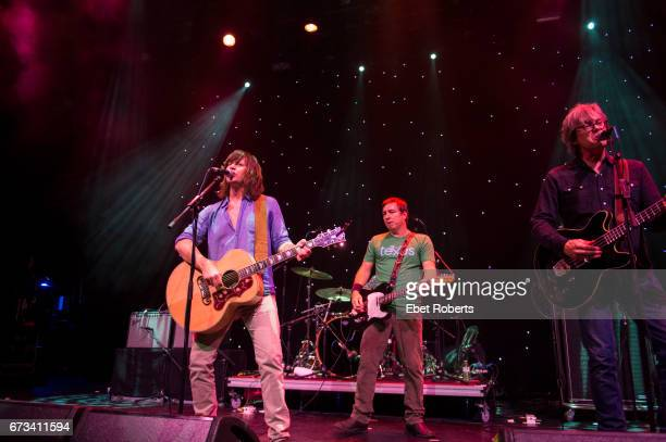The Old 97's perform on The Outlaw Country Cruise from Tampa to Cozumel on February 27 2017 Rhett Miller Ken Bethea and Murray Hammond