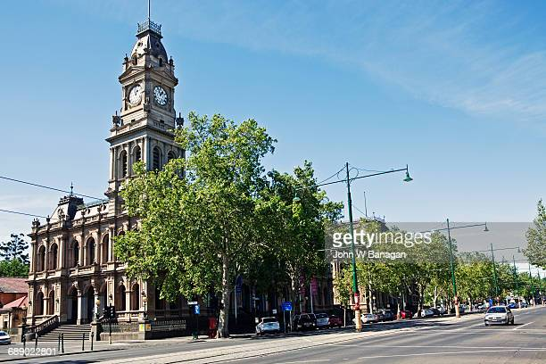 The old Bendigo Post Office.  Victoria, Australia