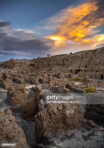 The old citadel of argé bam kerman province bam Iran on January 2 2016 in Bam Iran