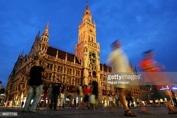 The old City Hall is pictured on August 25 2009 in Munich Germany In 2007 approximately 95 million tourists visited the Bavarian capital