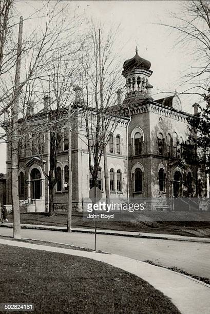 The old court house in Brampton Ont the scene of many stirring trials