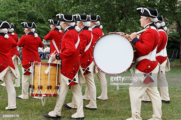 The Old Guard Fife and Drum Corps Marching