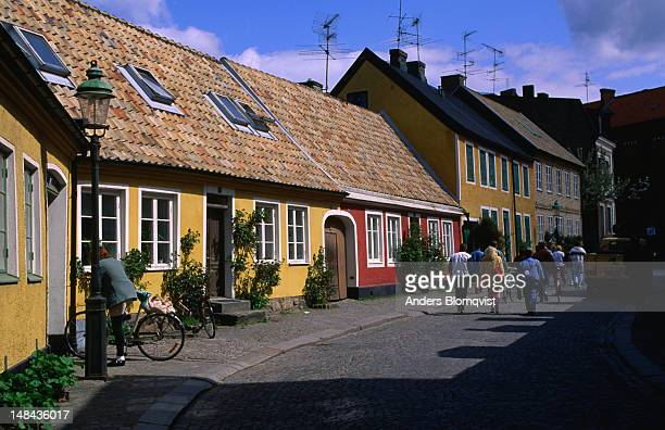 The old houses of Adelgatan in Lund