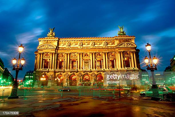 The old Opera House at the Place de l'Opera Paris France