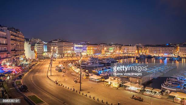 The old port of Marseille.