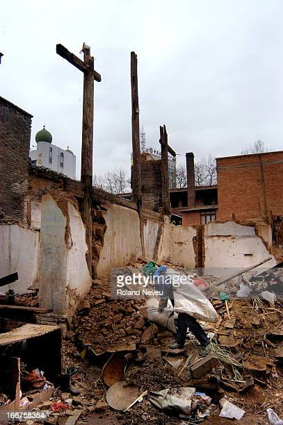 The old quarter of the city is being demolished to build the new China