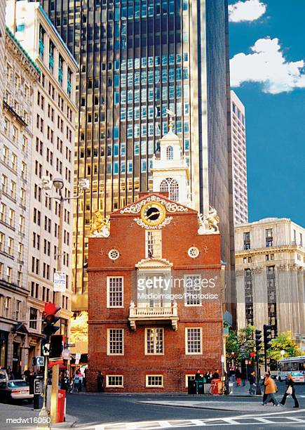 The Old State House in Boston, Massachusetts, USA