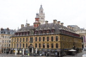 The old Stock Exchange on November 29 in Lille France Lille a city in the North of France has a population of 200000 Lille features an array of...