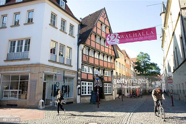 The old town of the Lower Saxony University City Osnabrueck