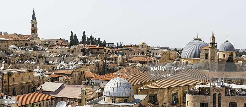 The Old Town with Church of the Holy Sepulchre