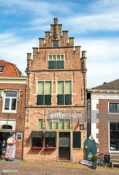 Das älteste Gebäude in Edamer, Monarchie- jetzt ein örtliches Museum
