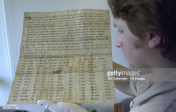 The oldest document at the Public Records Office dating back to 974AD comes from the reign of King Edgar and is a charter granting thane Aelfhere...