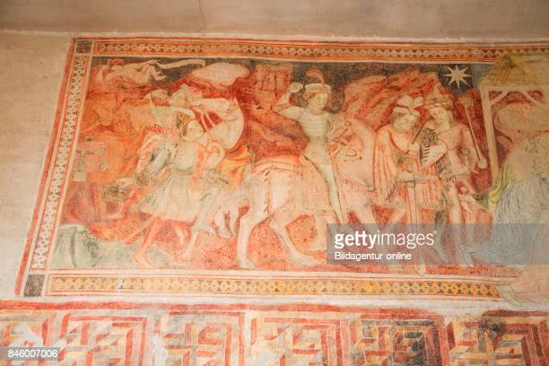 The Oldest Frescoes in the Germanspeaking Area Ca 10th Century St Prokulus Church In Naturns Val Venosta Vinschgau South Tyrol Alto Adige Italy