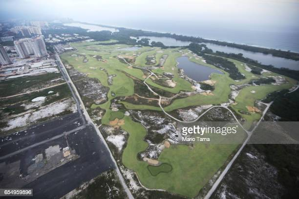 The Olympic Golf Course stands partially degraded on March 17 2017 in Rio de Janeiro Brazil Seven months after the Rio hosted the first Olympic games...