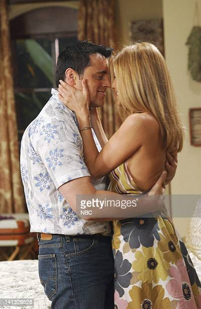 FRIENDS 'The One After Joey and Rachel Kiss' Episode 1 Aired 9/25/2003 Pictured Matt LeBlanc as Joey Tribbiani Jennifer Aniston as Rachel Green Photo...