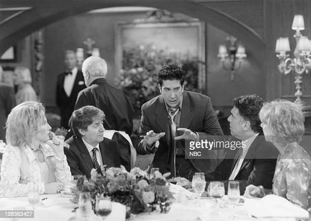 FRIENDS 'The One After Ross Says Rachel' Episode 1 Air Date Pictured Jennifer Saunders as Andrea Waltham Tom Conti as Stephen Waltham David Schwimmer...